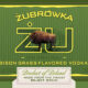 Bottoms Up #47 – Zubrowka Bison Grass Vodka