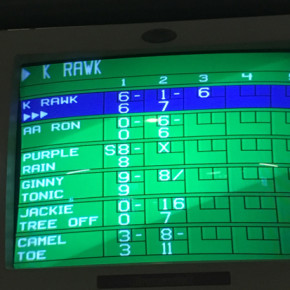 Bowling scores take shape