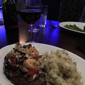 Dinner at Johnny's Itallian Steakhouse